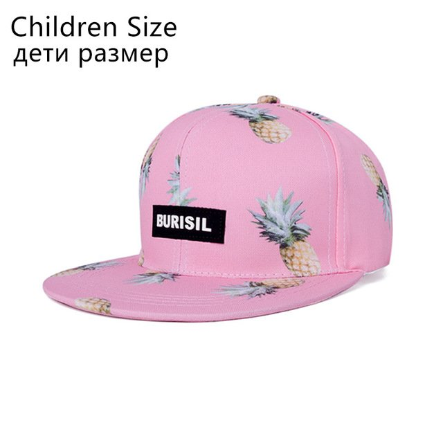 DARKAREA Fashion Fruit Pattern Snapback Caps Parent-child Hat ... 71d4eb59510
