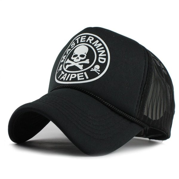FETSBUY Casual Unisex Skull mesh Baseball Cap Summer Casquette Snapback Gorras Planas Baseball Cap Men Fitted Hats Caps 4