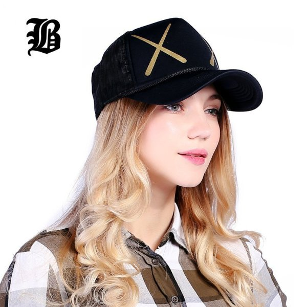 [FLB] 12 Styles Unisex Acrylic 5 panels Adjustable Baseball Cap Summer mesh caps Snapback Baseball Cap Men Fitted Hats Caps 4