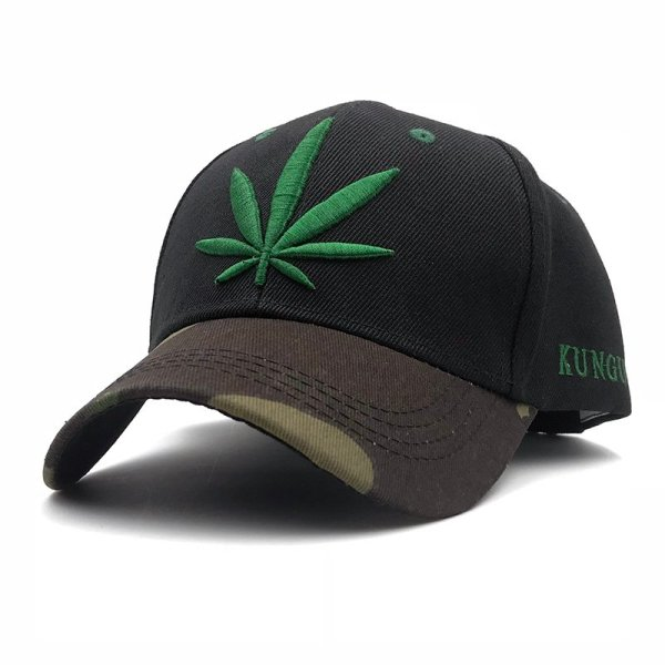 Fashion Weed Snapback Caps Hats Hip Hop Baseball Cap Strapback Men Women Bone Aba Reta Gorras Homme Casquette Weed Leaf Snapback 3