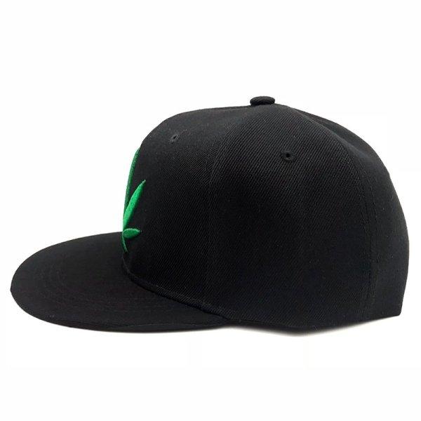Fashion Weed Snapback Caps Hats Hip Hop Baseball Cap Strapback Men Women Bone Aba Reta Gorras Homme Casquette Weed Leaf Snapback 5