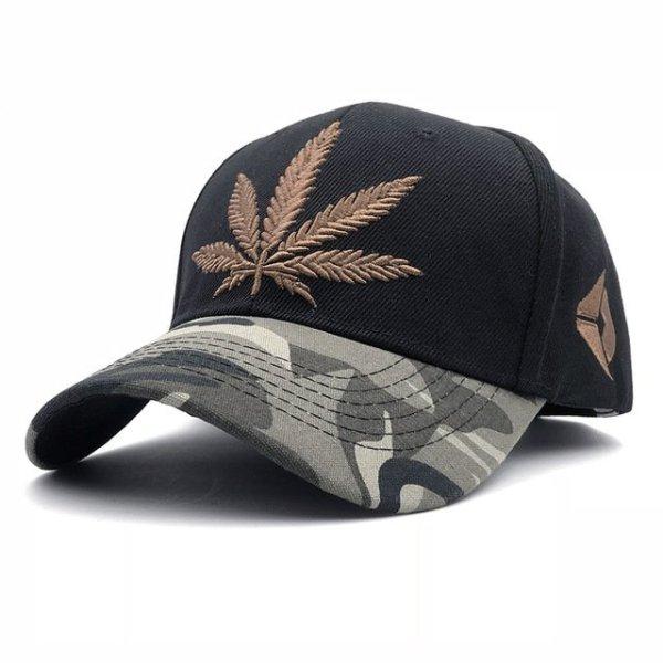 Fashion Weed Snapback Caps Hats Hip Hop Baseball Cap Strapback Men Women Bone Aba Reta Gorras Homme Casquette Weed Leaf Snapback 12