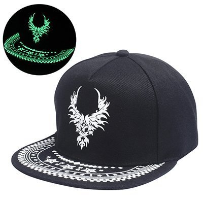 Graffiti Baseball Cap Hip Hop Fluorescent Light Snapback Caps Men ... 8bb9eb8f3e2