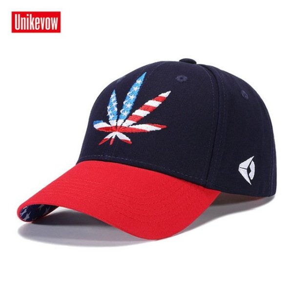 High quality Baseball Cap Unisex Sports leisure hats leaf embroidery sport cap for men and women hip hop hats 22
