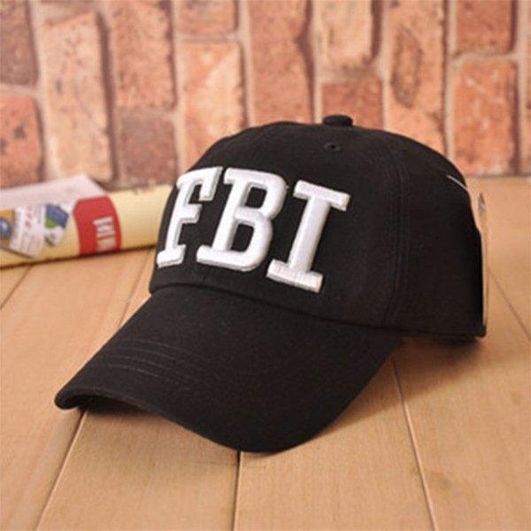 High quality Wholesale Retail 1pc free shipping voron Hat & Cap FBI Fashion Leisure embroidery CAPS Unisex Baseball Cap 8