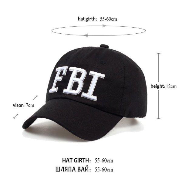 High quality Wholesale Retail 1pc free shipping voron Hat & Cap FBI Fashion Leisure embroidery CAPS Unisex Baseball Cap 6