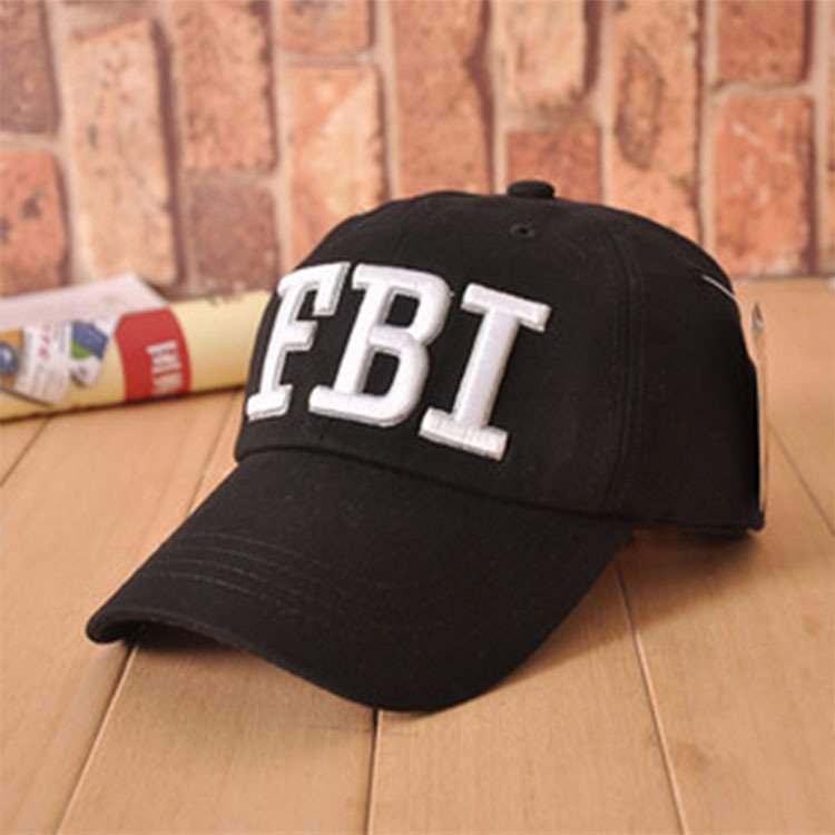 High quality Wholesale Retail 1pc free shipping voron Hat   Cap FBI Fashion  Leisure embroidery CAPS Unisex Baseball Cap 3c6a784040e9