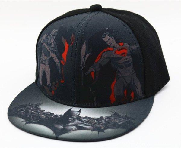 Hot Sale Children Cartoon Colorful  Superman Batman Adjustable Kids Baseball Snapback Cap  Unisex  Hip Hop Hats 4