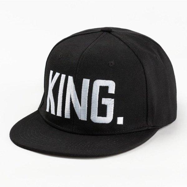 Hot Sale KING QUEEN Embroidery Snapback Hat Acrylic Men Women Couple Baseball Cap Gifts Fashion Hip-hop Caps 14