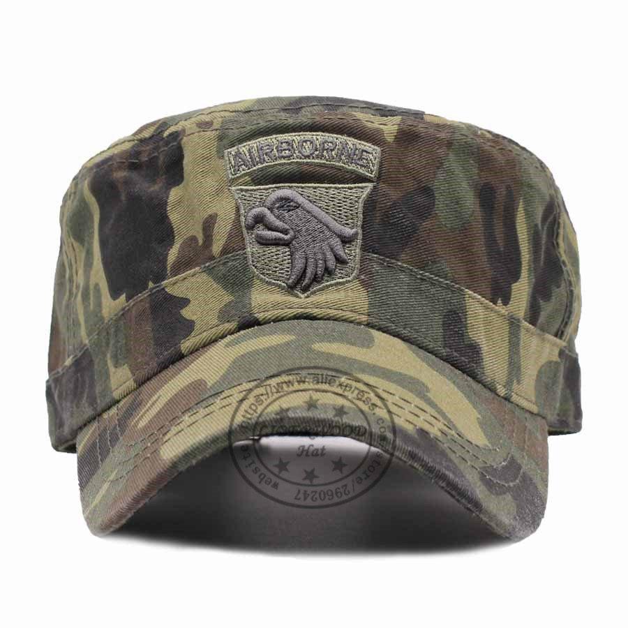 LIBERWOOD US Tactical Hats 101ST AIRBORNE SCREAMING EAGLE Cap Air ... 5adc6e65169