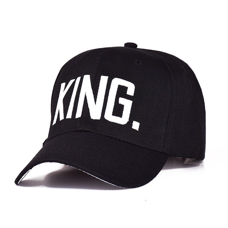 36807049701c77 MNKNCL Hot Selling King Queen Letter Embroidery Baseball Cap Couples Hip Hop  Snapback Cap for Man Hat Women ...