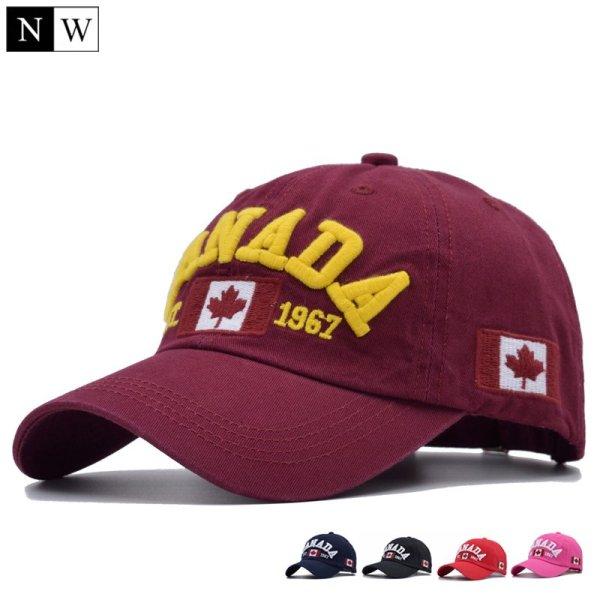 Cotton Gorras Canada Baseball Cap Flag Of Canada Hat Snapback Adjustable Mens Baseball Caps Brand Snapback Hat 2