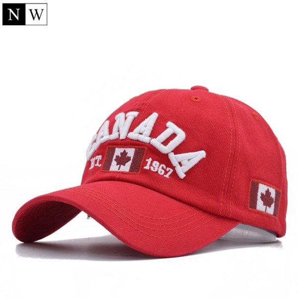 Cotton Gorras Canada Baseball Cap Flag Of Canada Hat Snapback Adjustable Mens Baseball Caps Brand Snapback Hat 5