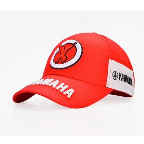 New Black Red F1 racing cap Car Motocycle Racing MOTO GP VR 99 rossi Embroidery hiphop cotton trucker Yamaha Baseball Cap Hat 6