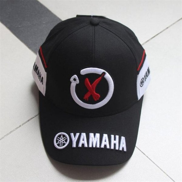 New Black Red F1 racing cap Car Motocycle Racing MOTO GP VR 99 rossi Embroidery hiphop cotton trucker Yamaha Baseball Cap Hat 7