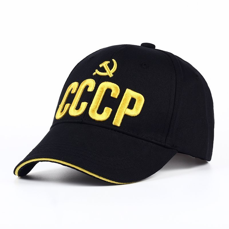 d9604055330 VORON CCCP USSR Russian Hot Sale Style Baseball Cap Unisex black Red ...
