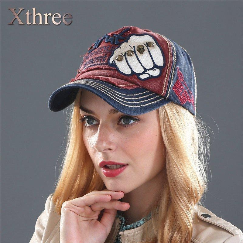 86887b714cc4d XTHREE unisex fashion men s Baseball Cap women snapback hat Cotton ...