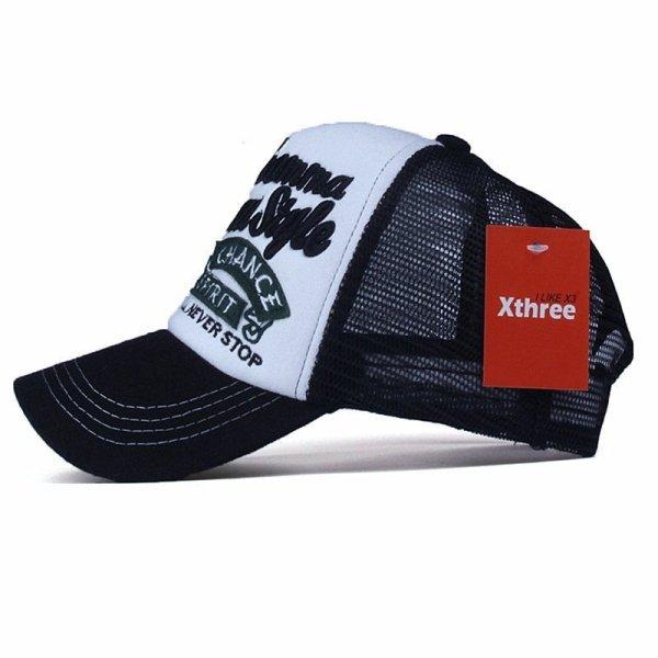 Xthree New 5 panels embroidery summer baseball cap casual mush cap men snapback hat for women casquette gorras 2