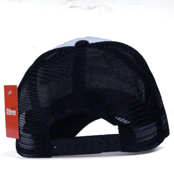 Xthree New 5 panels embroidery summer baseball cap casual mush cap men snapback hat for women casquette gorras 4