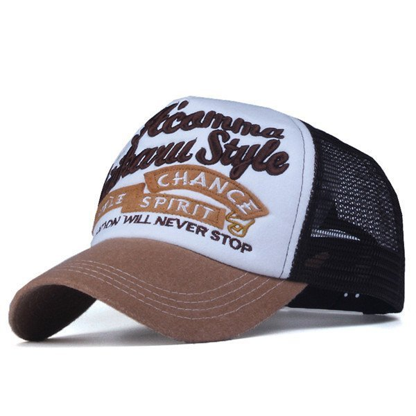 Xthree New 5 panels embroidery summer baseball cap casual mush cap men snapback hat for women casquette gorras 10