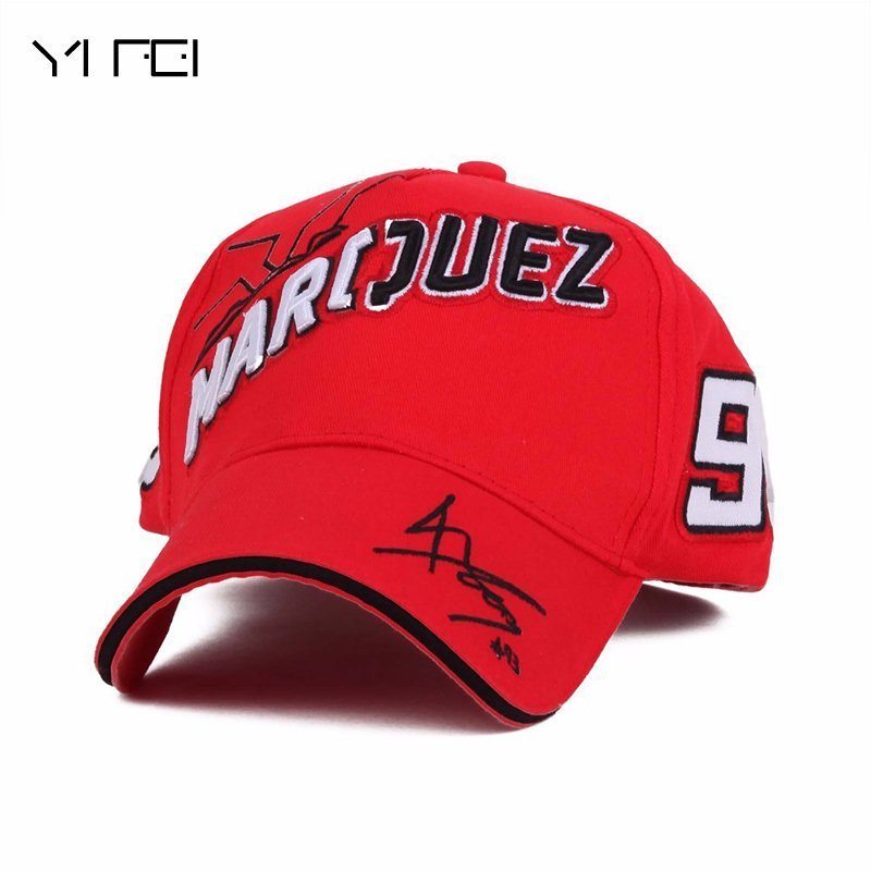 YIFEI 100%COTTON Motorcycle MOTO 93 Big Ant Embroidery Baseball Cap ... fc7c0b0504a0