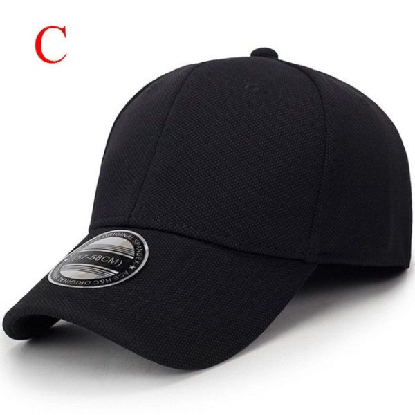 solid unisex black baseball cap men snapback hat  women cap flexfit fitted hat Closed  Male full cap  Gorras Bones trucker hat 14