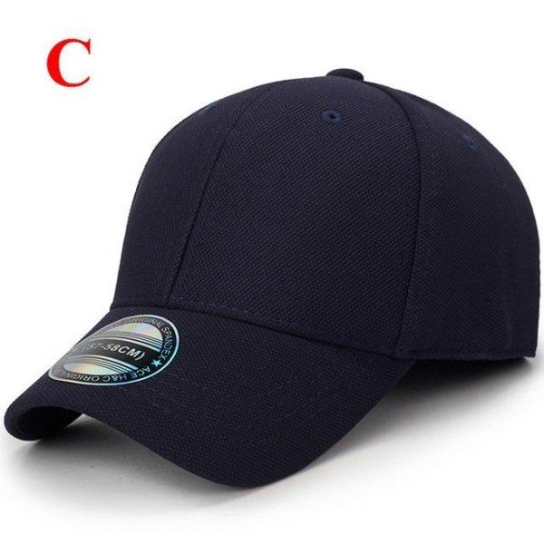solid unisex black baseball cap men snapback hat  women cap flexfit fitted hat Closed  Male full cap  Gorras Bones trucker hat 30