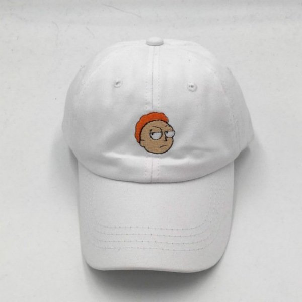 which in shower cotton embroidery Rick and Morty cap cartoon Rick Smoking dad hats for women men hip hop snapback baseball caps 7