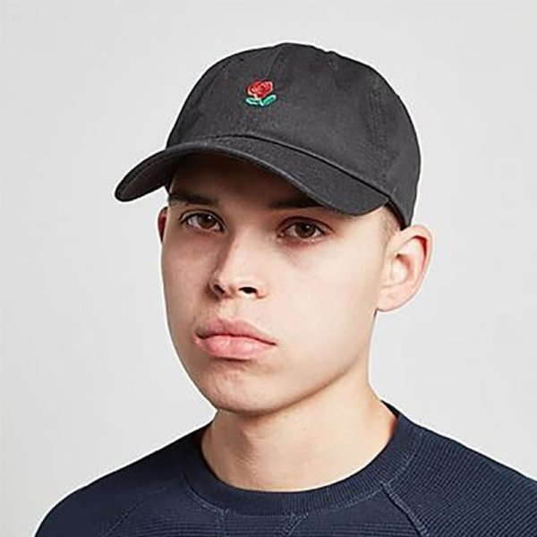100% Cotton Rose embroidery hat black cap Blank snapback hip hop dad cap designer hats men women Visor hat skateboard gorra bone 4