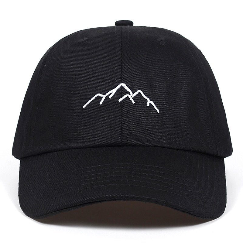 d425421c185 2018 new Mountain range embroidery Mens Womens Baseball Caps Adjustable  Snapback Caps Fashion dad Hats Bone Garros. Sale! 🔍. capshop.store