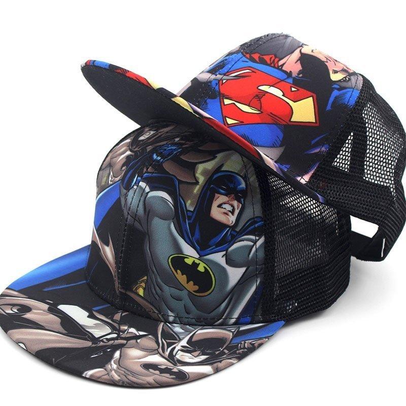 3a6eab84f5c Children Baseball Cartoon Anime Super Hero Superman Batman Caps Boy Girls  Sport Cap Hip Hop Hats Summer Sun Hat Adjustable Cap. Sale! 🔍.  capshop.store
