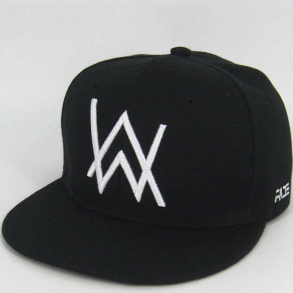 DJ Alan Walker Cosplay Costumes Hats Adjustable Black Cap With Gift Mask 2