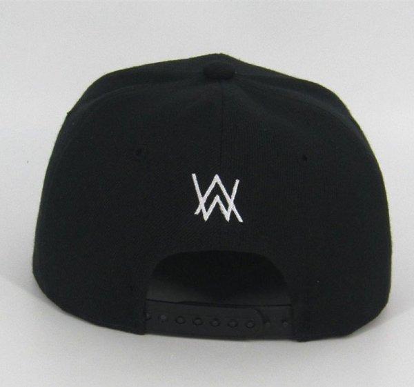DJ Alan Walker Cosplay Costumes Hats Adjustable Black Cap With Gift Mask 4