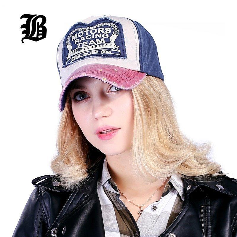 Spring Cotton Baseball Cap Snapback Summer Cap Hip Hop Fitted Hats For Men Women