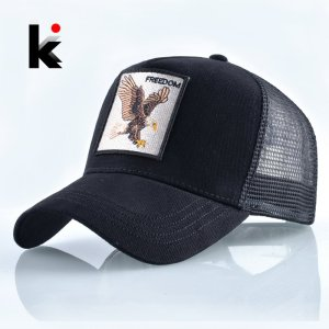 f6aca652ebd104 ... Cap $98.99 $62.99; Fashion Animals Embroidery Baseball Caps Men Women  Snapback Hip Hop Hat Summer Breathable Mesh Sun Gorras Unisex Streetwear  Bone ...