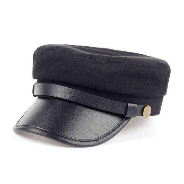Fashion style Hex hat Unisex Newsboy Cap men Solid color cotton High Quality cowboy gorras planas man Berets Double fabric Casua 7