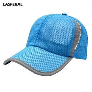 3c2a47a0073 LASPERAL 2018 New Mesh Hats Casual Summer Autumn Sport Caps Fashion  Baseball Cap Women Snapback Hat Summer Messy Bun