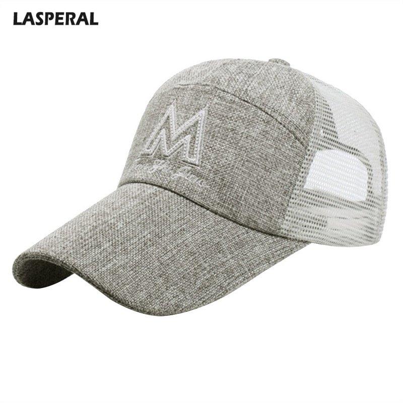 LASPERAL Breathable Sun Hats Snapback Baseball Cap Summer Mesh Trucker Hat  Adjustable Hip Hop Caps 2018 Casual Women Men Cap - Cap shop  386b305b3f3