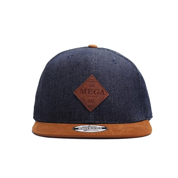 MNKNCL High Quality Snapback Cap MEGA Embroidery Brand Flat Brim Baseball Cap Youth Hip Hop Cap and Hat For Men and Woman 4