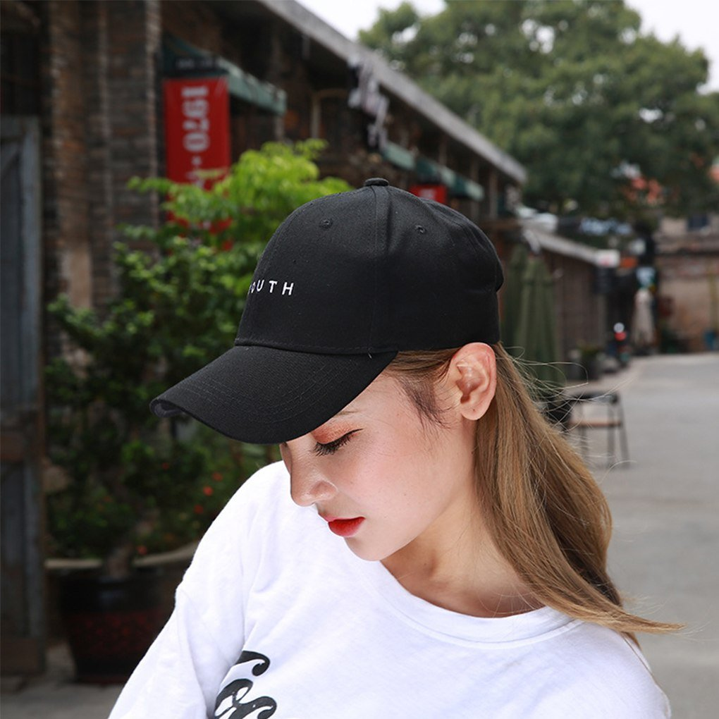 Youth Letters Embroidery Baseball Cap Men Women Baseball Hats Events ... a4b3dc68f5a