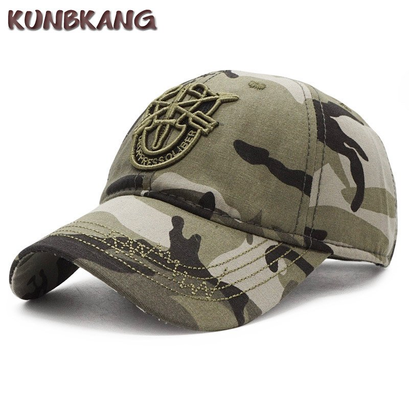 144e783da6c4d 2018 New Army Cap Camo Baseball Caps Men Camouflage Snapback Hats ...