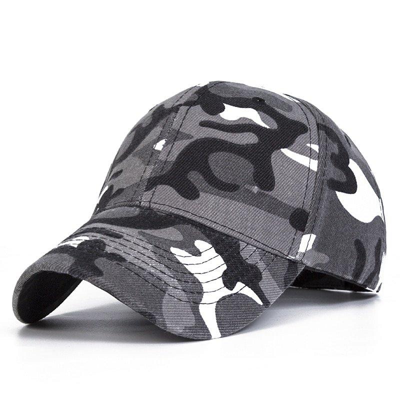 764d8539ae7 Evrfelan Camo Mesh Baseball Cap Men Camouflage Caps Masculino Summer ...