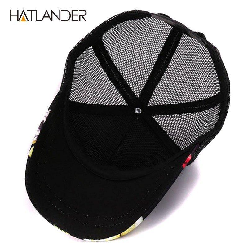 HATLANDER 2017 Flower baseball caps for women summer sun hats ... 2186c92c313d