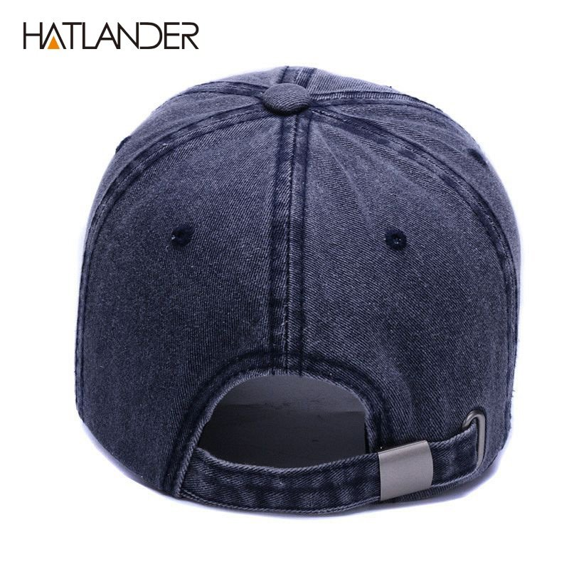 Washed Soft Cotton Baseball Cap Hat For Women Men Vintage Dad Hats Anchor Style