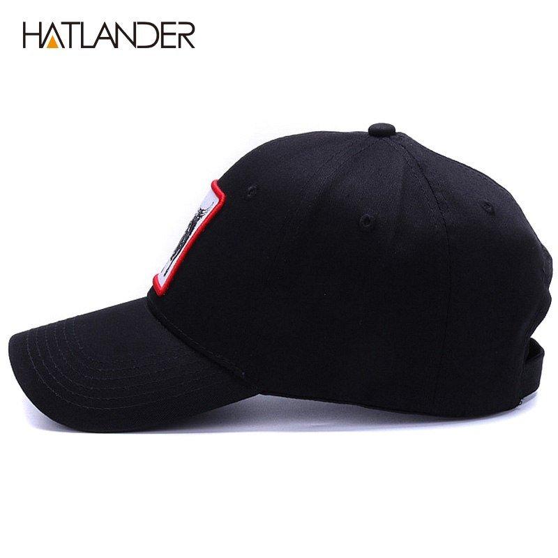 HATLANDER High quality Animal cotton baseball caps mens snapback ... fe21bc2865f