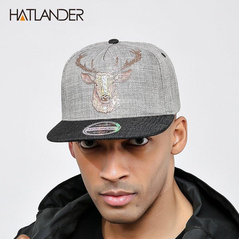 HATLANDER Original Quality street style snapback cap men hats ... 54278dbb366