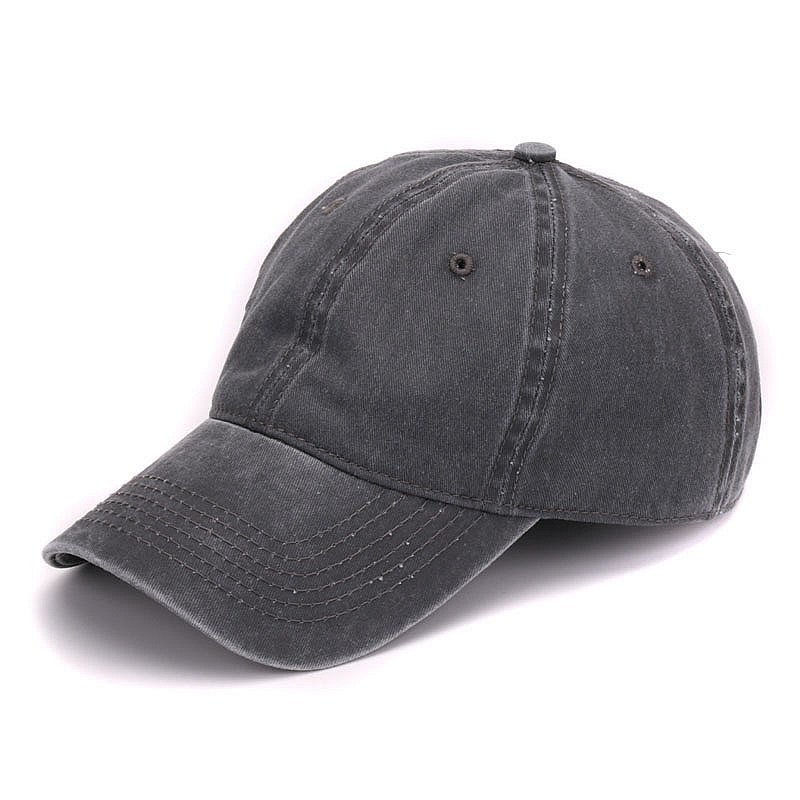 0407cd3e9f1 HATLANDER Plain dyed sand washed 100% soft cotton cap blank baseball ...