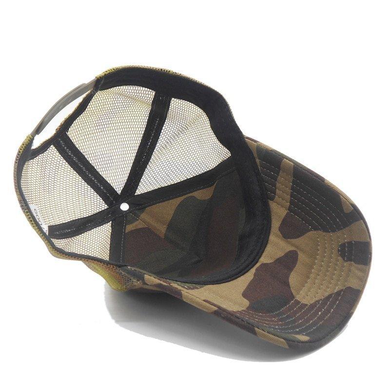 bb9a202c NEW Men Camo Mesh Baseball Caps for Spring Summer Outdoor Jungle ...