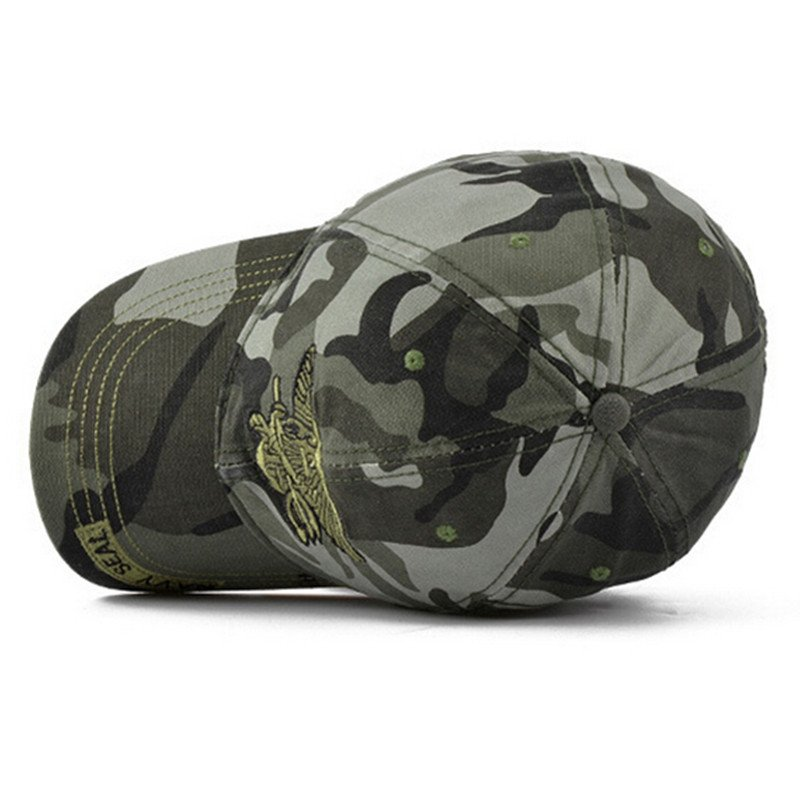New Men Navy Seal Cap Top Quality Army Green Snapback Caps Hunting