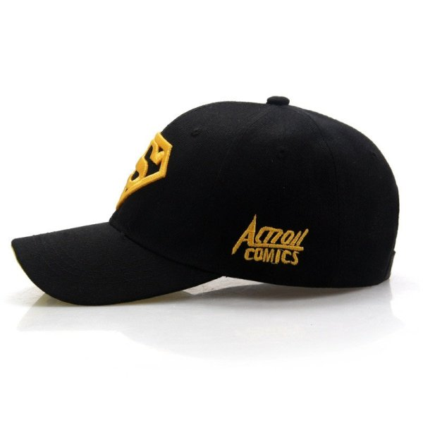 2020  New Letter Superman Cap Casual Outdoor Baseball Caps For Men Hats Women Snapback Caps For Adult Sun Hat Gorras wholesale 3